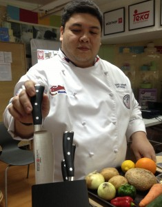 Chef Brando Santos of Global Academy