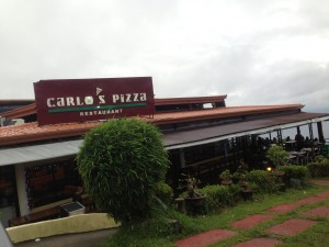 Carlo's Pizza in Tagaytay