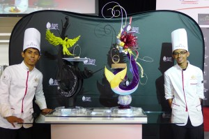 Taken at the Asian Pastry Cup, where team Philippines got their ticket to Lyon.