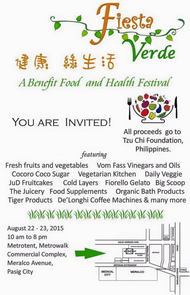 Shop-for-a-cause at Tzu Chi Foundation's healthy food bazaar