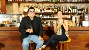 Spanky Enriquez and Stephanie Zubiri-Crespi, hosts of Let's Eat