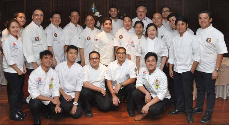 L-R standing: Holly Manuel, Francis Oliveros, Fernando Aracama, Dan Basilio, Kenneth Cacho, James Antolin, Josh Boutwood, Carlo Miguel, Mia Yan, Norbert Gandler, Gyle Gicana, Penk Ching, Gerhard Gendrano, Rudolph Cabuay, Timothy Faller, Jireh Rodriguez, J Gamboa L-R seated: Anthony Jay Segubiemse, Jonathan Miranda, Sonny Mariano, Philip Ching, Julius Conde Not in photo: Buddy Trinidad and Jackie Ang Po