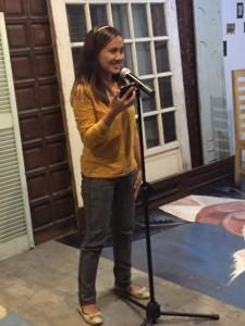 """Diosa Fe Garcia was brimming with hugot. I couldn't help but react to her introduction. """"Ang tulang para sa mga taong nakakaramdam ng pagkawasak"""". And to the line """"ikaw ang oo sa lahat ng hindi ng mundo"""". Feel na feel ko ah!"""