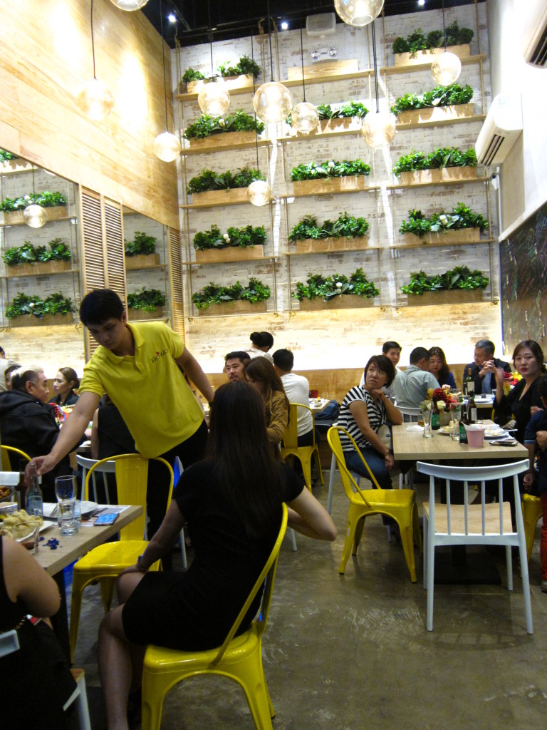 The scene during Kko Kko's grand opening