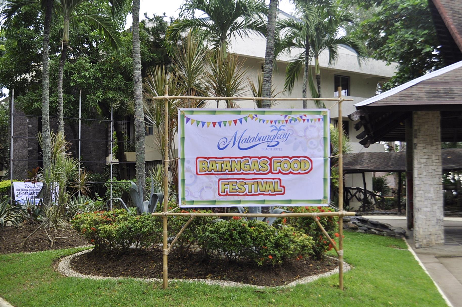 Matabungkay Beach Hotel's Batangas Food Festival
