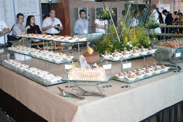Gourmet Team Challenge Entry. A cold buffet for 30 persons consisting of 27 different items, prepared in 24 hours.