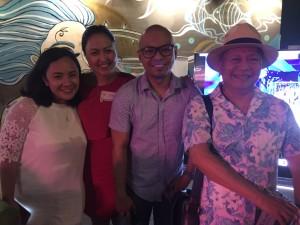 JC Pastor, Joba Botana, Nickie Wang, and Isah Red