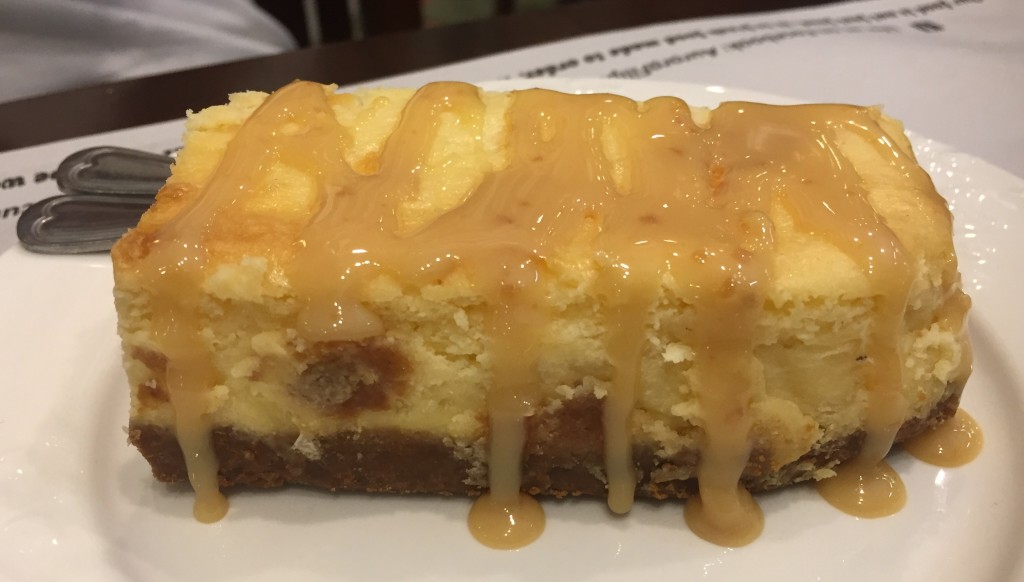 Dessert was Kesong Puti Cheesecake (P150) Winner!