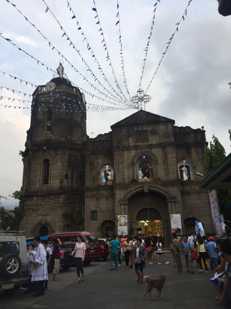 While watching the Santa Cruzan, another church tower caught our eye. The Immaculate Conception Parish Church or the Santa Cruz Church was our last stop.