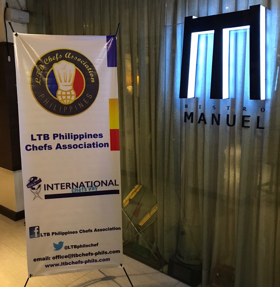 LTB Philippines Chefs Association's International Chefs Day Celebration at Bistro Manuel