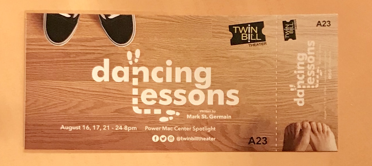 Twin Bill Theater's Dancing Lessons: Little Dancing Lots of Lessons